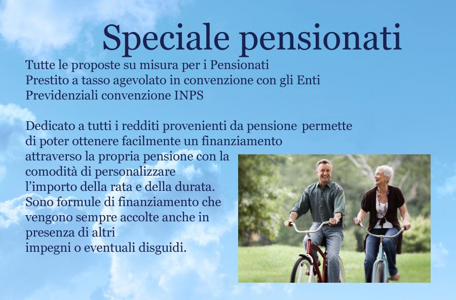 Prestito speciale pensionati